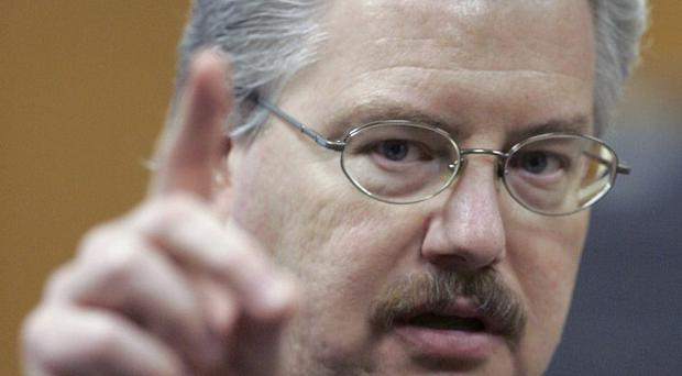 Kenneth Kratz said he is embarrassed about sending the sexually suggestive messages (AP)