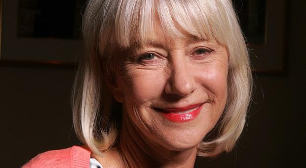 Dame Helen Mirren joked she holds a grudge against critics