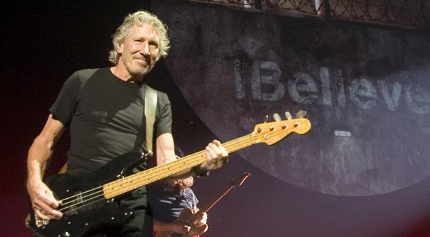 Roger Waters opened the Pink Floyd tour