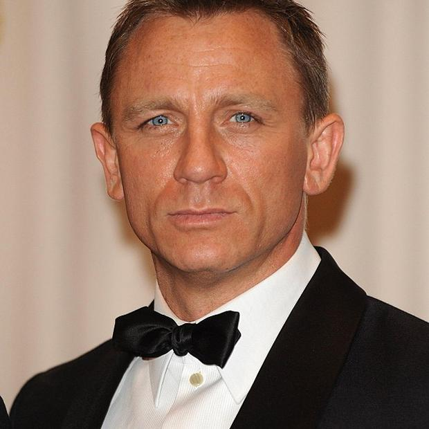 Daniel Craig will be playing 007 for the third time