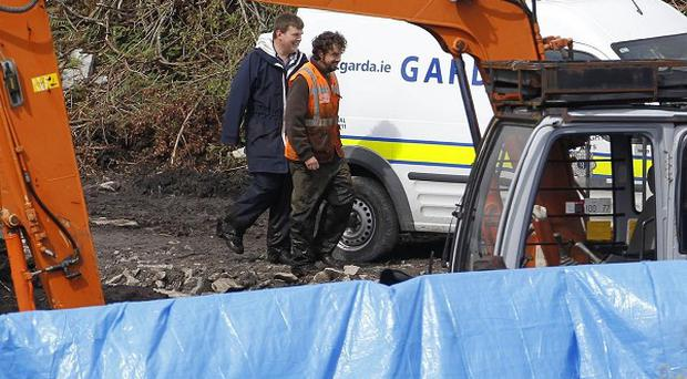The remains were found in bogland, Co Monaghan