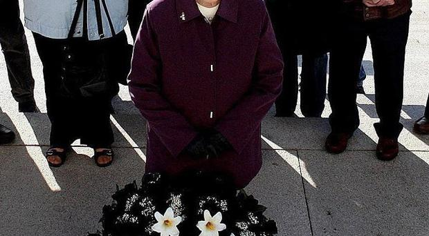 Kathleen Armstrong, whose husband Charlie was murdered by the IRA in 1981