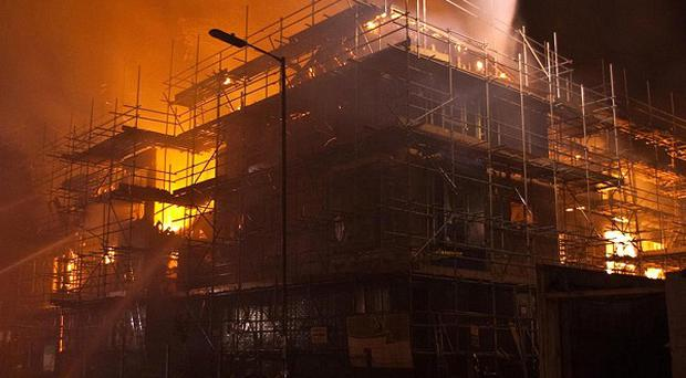 Chief Fire Officers Association claimed timber-framed buildings under construction posed a 'significant risk' to firefighters