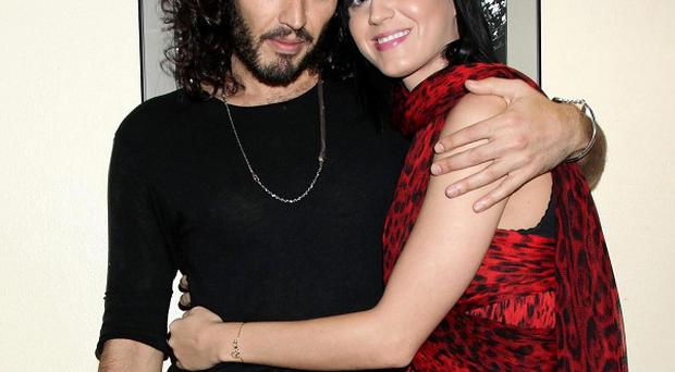 Russell Brand and girlfriend Katy Perry were involved in an altercation at Los Angeles International Airport
