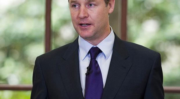 Wealthy tax dodgers should be pursued as hard as benefit cheats, Nick Clegg said