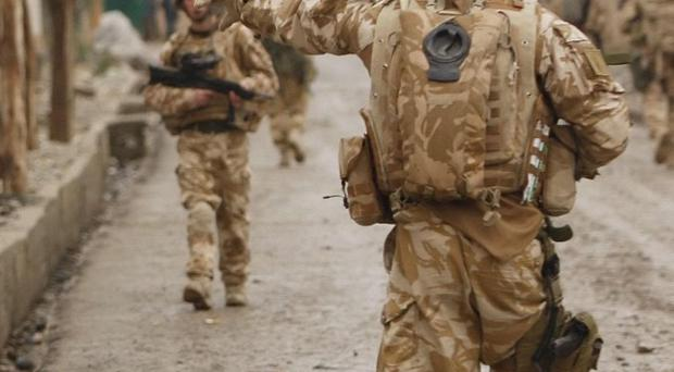 Two British soldiers have been killed in an explosion in Afghanistan, the MoD said