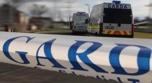 A man is being questioned by detectives over an early-hours gun attack in north Dublin