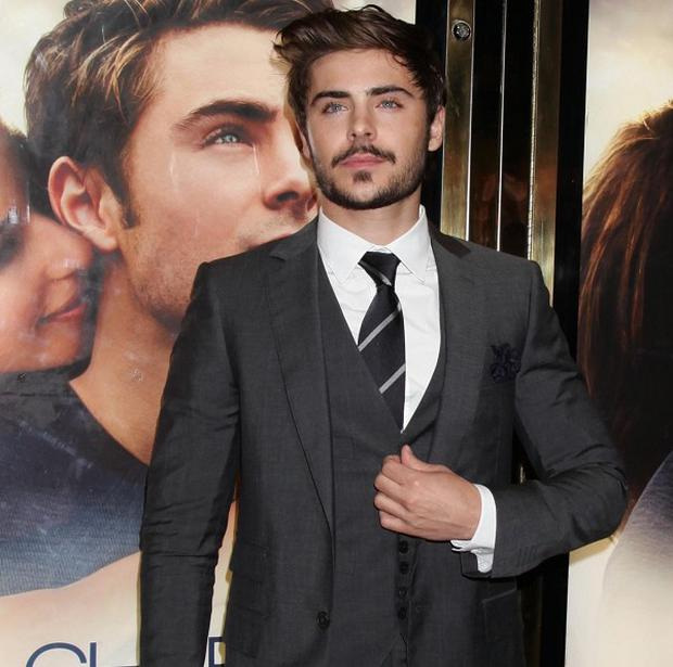Zac Efron arrives for the UK premiere of The Death And Life Of Charlie St Cloud