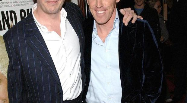 Steve Coogan and Rob Brydon play versions of themselves in The Trip