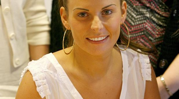 Coleen Rooney is on a private trip to Lourdes