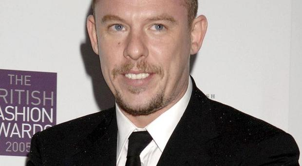 Family and friends celebrated the life and work of fashion's 'enfant terrible' Alexander McQueen