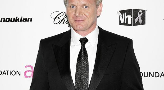 Gordon Ramsay planned the camping trip with David Beckham