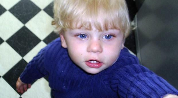 Baby P, now named as Peter Connolly, died in a blood-spattered cot in Tottenham on August 3, 2007