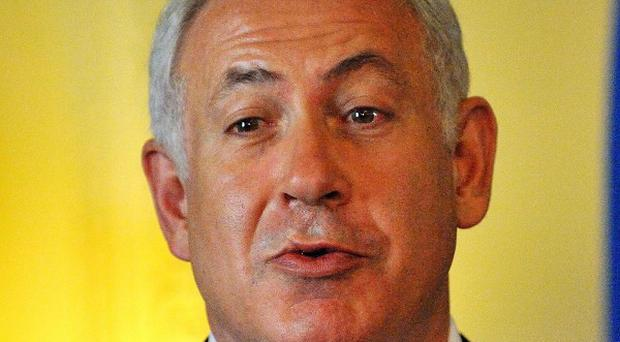 Benjamin Netanyahu said Israel wants to keep its troops on the eastern border of a future Palestinian state