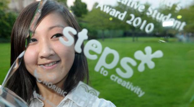 Winnie Shek's use of new media helped build up her placement business, Alive Surf School in Portrush, and earned her the Most Creative Student 2010 title in the Steps to Creativity programme run by the University of Ulster