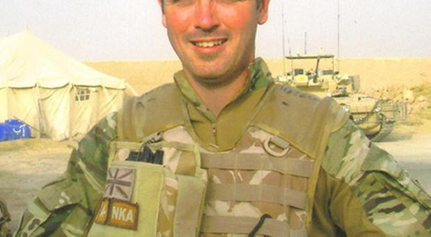 Sergeant Andrew Jones, of the Royal Engineers, who was killed in Afghanistan