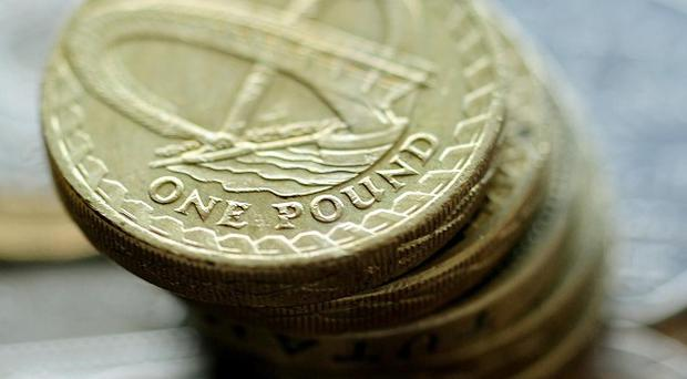 The UK's public finances showed a plunge into the red of 15.9 billion pounds during August