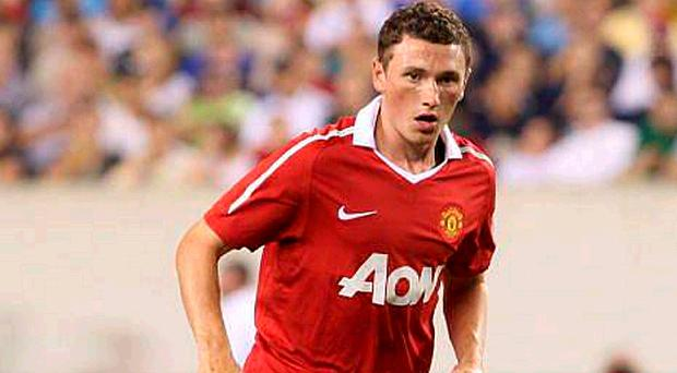 Corry Evans has worn the United first-team shirt before, but not in a competitive match