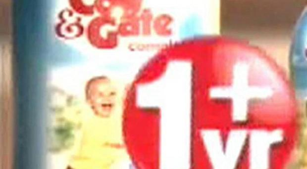 An ad for toddler formula milk has been banned for falsely claiming that most young children do not get enough iron