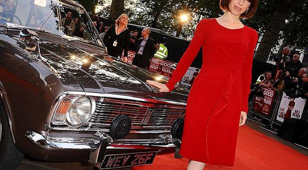 Sally Hawkins arriving for the world premiere of Made in Dagenham