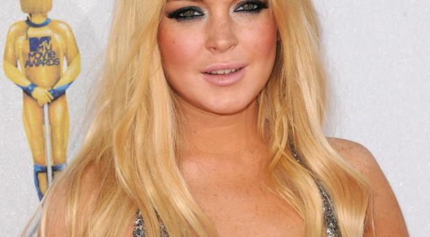 The production of Lindsay Lohan's new movie is in doubt