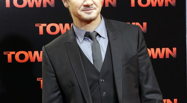 Jeremy Renner likes to learn things when he's making movies