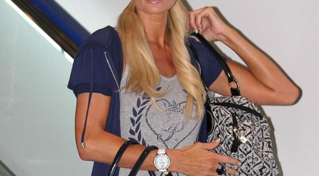 Paris Hilton has been denied entry to Japan (AP)