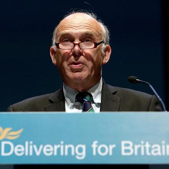 Business Secretary Vince Cable condemned City 'spivs' who wrecked economy