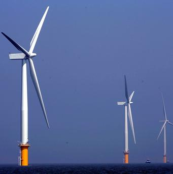 The world's largest offshore wind farm is being officially opened off the UK coast