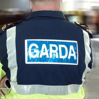 A man has been arrested after machine guns and ammunition were found in Dublin