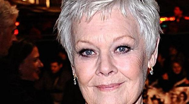 Dame Judi Dench was among the audience at an anniversary performance of Les Miserables