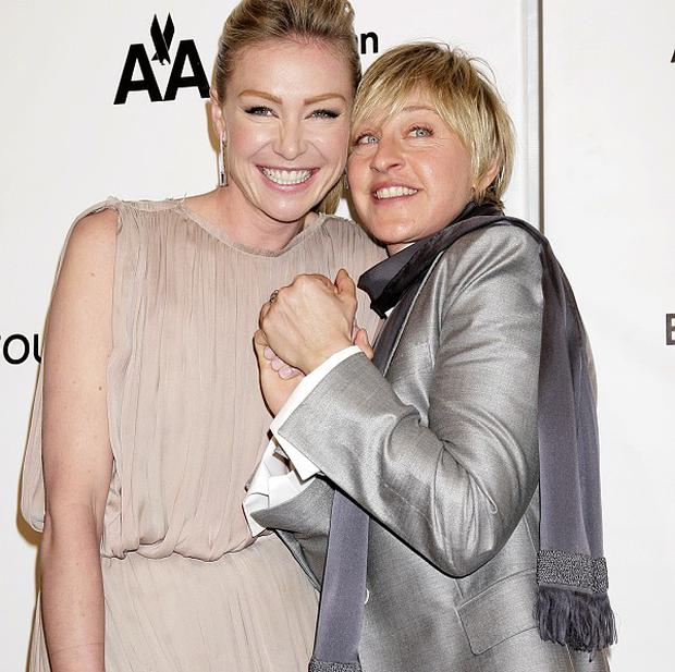 Portia and Ellen married in 2008