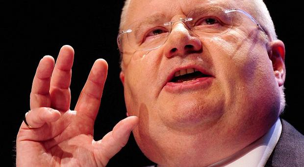 There will be no revaluation of council tax bands during this Parliament, Communities Secretary Eric Pickles said