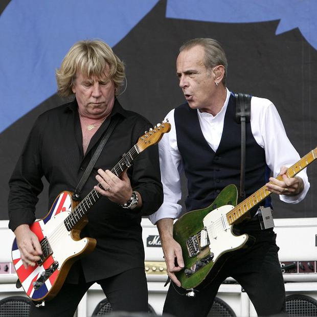 Status Quo have celebrated 40 years of success