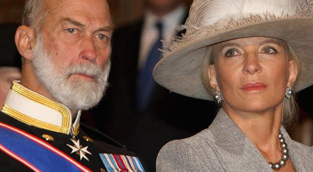 Prince Michael of Kent has dismissed speculation about the state of his marriage