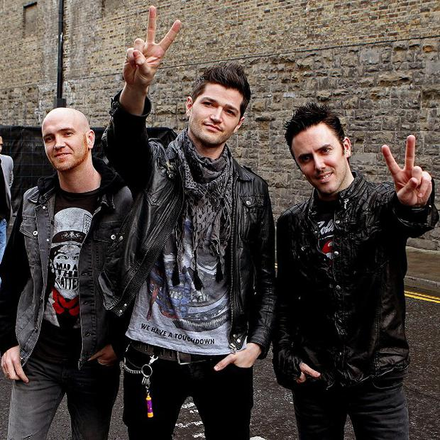 Chart-toppers The Script attended Arthur's Day in Dublin