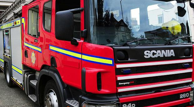 A man aged 67 has died in a house fire in Northern Ireland