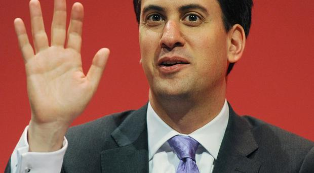 Labour Party leader Ed Miliband said there would be no lurch to the left