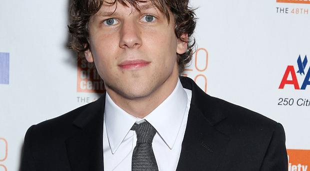 Jesse Eisenberg says he hasn't got a Facebook page