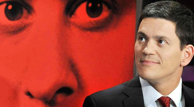 David Miliband told the Labour Party conference he was proud of his brother Ed