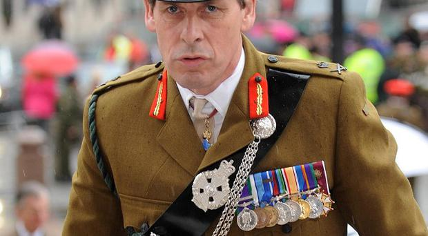Lieutenant General Sir Nick Parker said military advice would be for 'as few troops as possible' to be pulled out next year