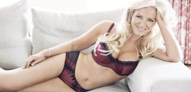 Ultimo boss Michelle Mone in her first lingerie photo shoot