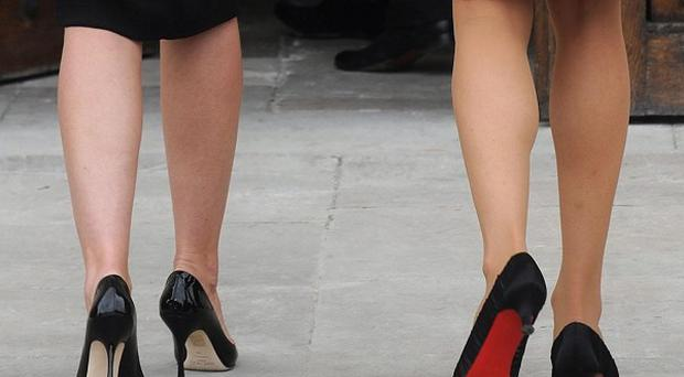 Four Australian women have nabbed the world record for the fastest relay race in stiletto heels