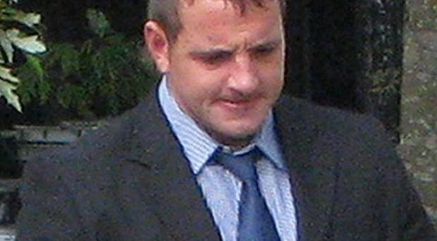 Security guard Sam Bawden denies a single charge of manslaughter following the death of Aaron Bishop