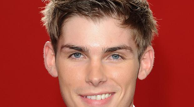 Hollyoaks actor Kieron Richardson says he is glad to be 'out'