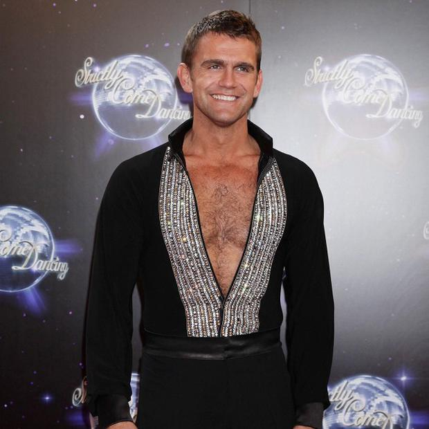Scott Maslen says his Strictly Come Dancing training is tough going