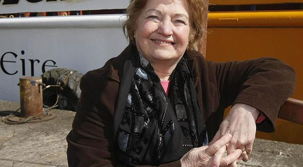 Nobel Peace Prize winner Mairead Maguire has been stopped from entering Israel