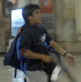 Mohammed Ajmal Kasab, the accused gunman, is appealing against his death sentence (AP)