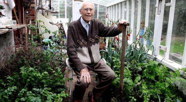 91-year-old Herby Archer pictured at his home outside Dungannon.