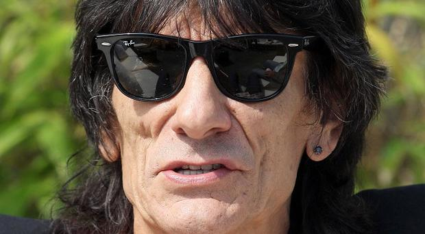 Ronnie Wood said he has not touched a drink in seven months